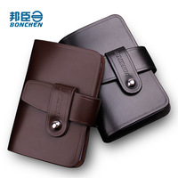 Card holder male cowhide men's card holder male clip card case women's wholesale and retail