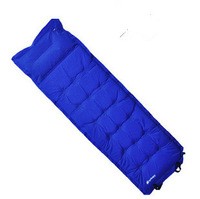 Unbelievable! Patchwork double outdoor camping automatic inflatable cushion outdoor moisture-proof pad  Free Shipping