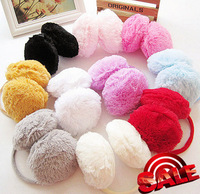 (Min order is $10)  Autumn and winter super large plush earmuffs trophonema thermal earmuffs