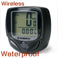 Free Shipping Wireless Waterproof Luminous Bike Bicycle Cycling Riding Computer Odometer Speedometer Tachometer Accessories