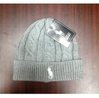 Wool hat knitted hat men and women warm winter ski cap