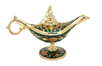 New Arrival Antique God Metal Aladdin Lamp Style Jewelry Box  For Retail&Wholesale  Free Shipping(C3026)