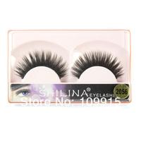 50Pcs/lots Natural Hand Made Fake False Eyelashes Eye Lash Makeup Box Case 7 Style Dropshipping Free shipping LX0003#50