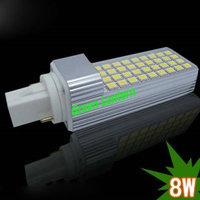 Best Price LED SMD 5050 G24 led PLC lights 8w