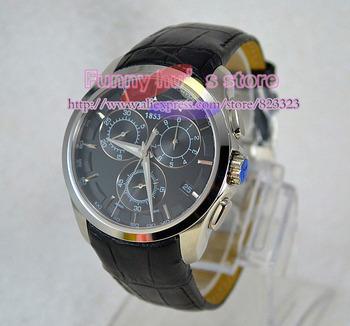 Brand NEW men's Chronograph original Swiss movement Watch T035.617.16.051.00  quartz wristwatches free shipping