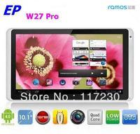 Free shipping Ramos W27 Pro W27Pro 10 inch Android 4.1 Tablet PC Quad Core Cortex A9 1GB RAM 16GB ROM Camera