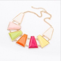 Chao fan vogue sweet geometry brief paragraph clavicle necklace necklace pendant
