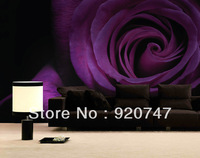Rose mural wallpaper romantic vinyl big size for couple