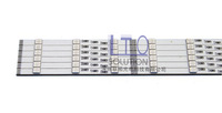 Long and short 12v 9 lamp 34 long neon board light box writing board led hard light strip flash light