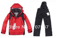 Free shipping Waterproof and Breathable Winter Unisex Kid Ski Suits (PS005)