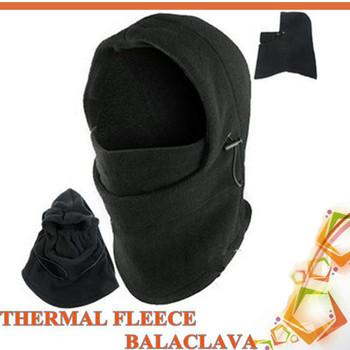 New Thermal Fleece 6 in 1 Balaclava Hood Police Swat Ski Bike Wind Stopper Mask freeshipping ajn