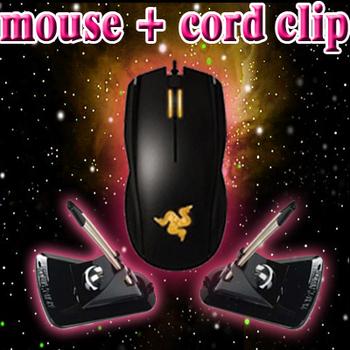 Original Razer Krait 2013+Mouse bungee in black color, 6400dpi 4G Optical Sensor, Brand new in box, Fast&Free shipping