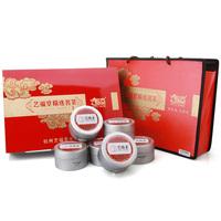Tea gift box clovershrub raw wood gift box premium oolong tea big red robe wuyi 6 snafus