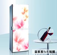 60*150cm flower Air conditioning Refrigerator decor HD Pattern Sticker home decor waterproof oil pvc sticker  hh-006