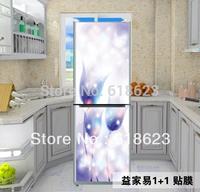 60*150cm Air conditioning Refrigerator decor HD Pattern Sticker home decor waterproof oil pvc sticker  hh-012