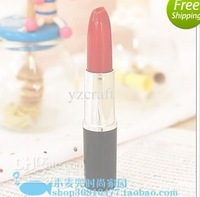 Free Shipping, , 50pcs lot Promotion Novelty Pen, Lipstick Style Ballpoint Pen, Lovely Gift