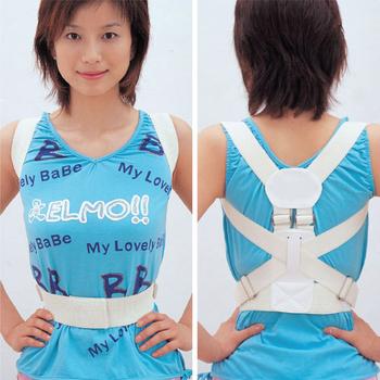 N 2pcs/lot S M 2choose Posture Back Belt Remedical belt Classic SpineShoulder Support Belt  Correct Rectify Posture