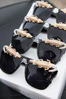Pl835 Women's Sunglasses Crocodile Over Drilling Sunglasses Crystal Sunglasses High Quality Fashion Sunglasses For Woman