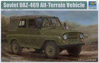 Trumpeter 02327 1/35 scale Soviet UAZ-469 All-Terrain Vehicle