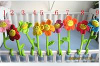 Baby bed accessories flower baby flannelet color good helper