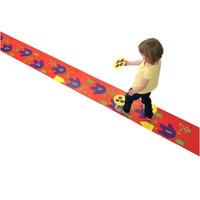 Red Digital Play mats,Standing long jump