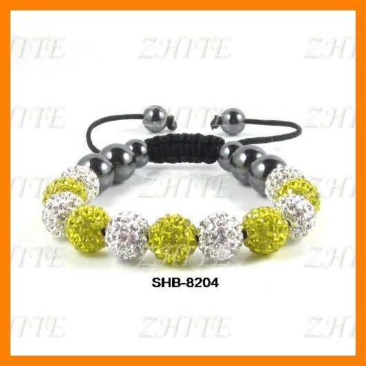 Free Shipping 2013 New Shamballa Bracelets Beads 11pcs Beads Fashion Jewelry SHB-8204(China (Mainland))