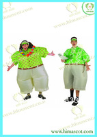 Hawaiian Inflatable Costume Adult Fancy Dress Suit Party Halloween Christmas Xmas Gift One Size Fits All