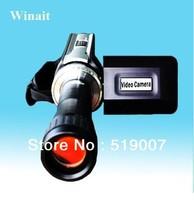 Latest DV-668T Digital Camcorder telescope 3.0 inch LCD screen MP3 Player Video Camera 3pcs