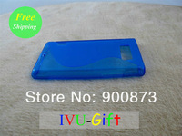 10pcs 2013 Hotsale protect case Wear TPU case cute Sillicon case for LG  L7