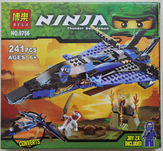 NINJAGO Storm Fighter 9756 the Phantom of the same paragraph Phantom Ninja Kay wheel motorcycle Specials Model Building Kits(China (Mainland))