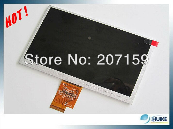 DHL 5pcs Stop Free shipping 100% Original new EJ070NA-01J 7&quot; inch LCD Screen display for Acer A500 A100,Lenovo Le Pad A1-07(China (Mainland))