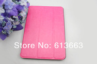 Wholesale Luxury Leather case for iPad Mini Ultra Thin Retro Fashion Smart Cover with Stand Magnetic,50pcs/lot,free shipping