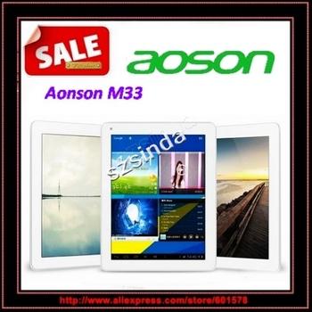 Aoson M33  RK3188 Quad Core Android 4.1 9.7inch Retina Screen 2048x1536 2GB RAM 16GB HDMI Tablet Pc / Anna