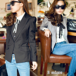 2013 spring and autumn c3998 serpentine pattern lining slim blazer coat blazer(China (Mainland))