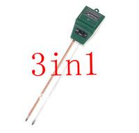 wholesale 3-in-1 Garden Light Luxmeter & PH Meter Soil Moisture Tester, freeshipping,dropshipping