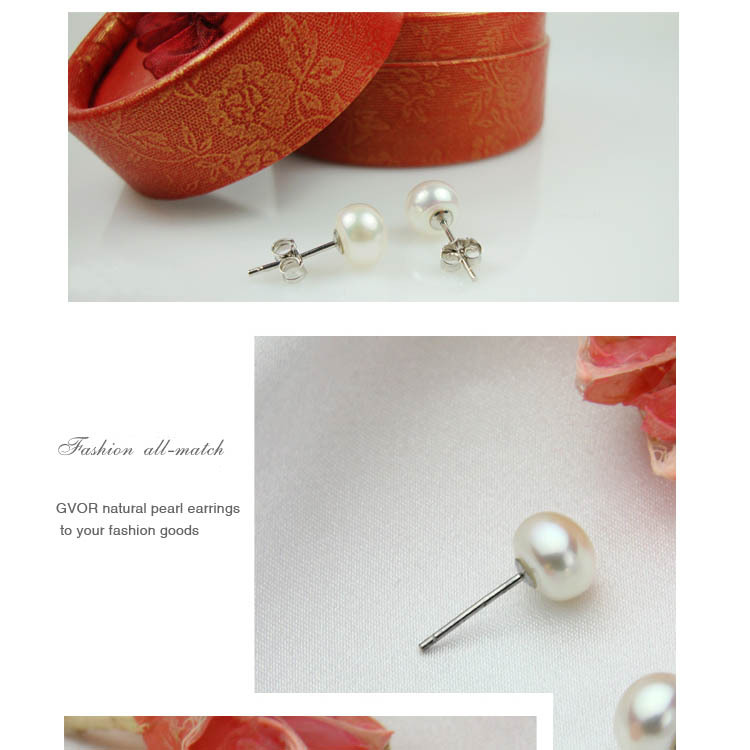 PEARLS Cooper Plated Pearl Stud Earrings Rings SET Women White Trendy Fashion Wedding Brand Jewelry Ring Earring Set(China (Mainland))