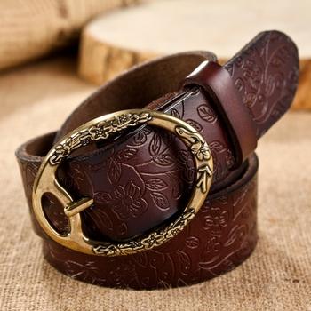 Free shipping/new 2014/belt/belts for women/genuine leather belt/pu/050/female belts/brand belt/fashion strap/metal pin buckle