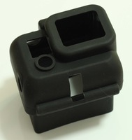 New Black Protective Dirtproof Silicone Case Cover Skin for GoPro HD Hero 3