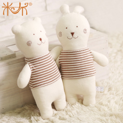 Baby bear pillow plush toy doll dolls birthday present for girlfriend gifts(China (Mainland))