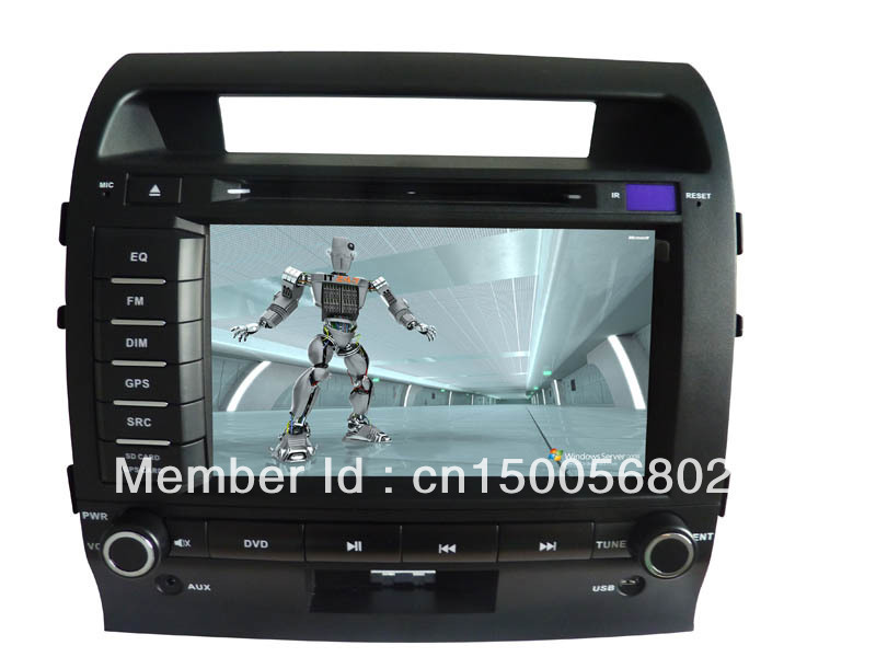 Toyota-Land Cruiser(2008-2011)Special Car DVD Player &amp;navigation system(China (Mainland))
