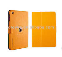 For apple ipad mini Case 360 degreen Rotation Leather Case  with retail package
