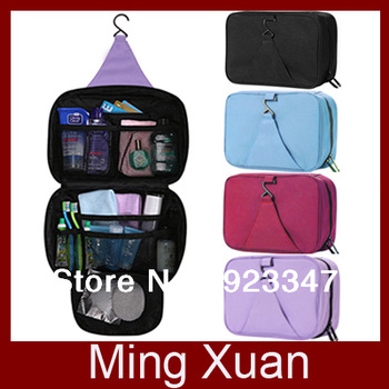 Free Shipping Useful Large Capacity Outdoor Hanging Travel Wash Bag/Cosmetic Sorting Bag 1pcs/lot