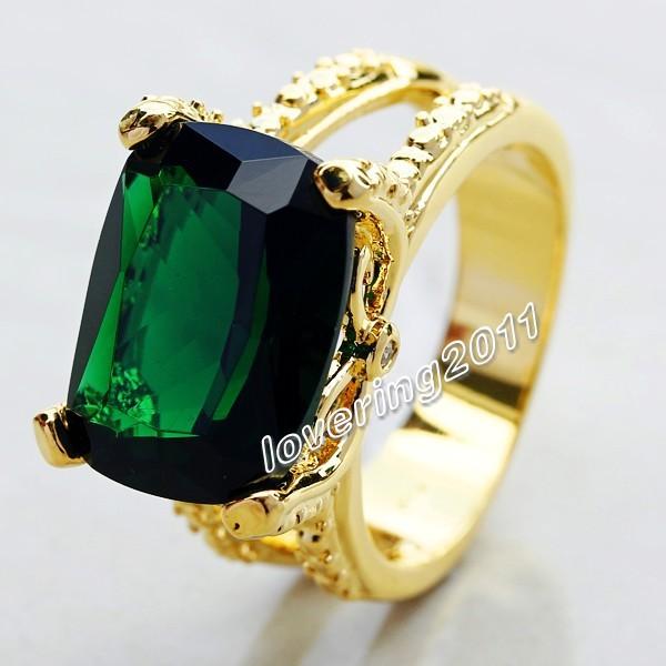 Emerald rings for men