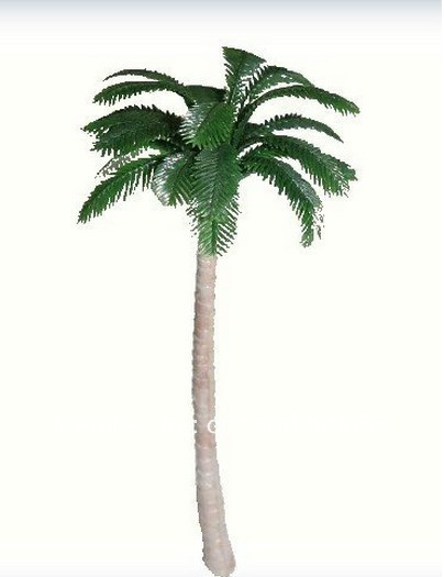 100pc Wholesale - 1:150 scale model tree palm for model model train scenery layout(China (Mainland))