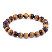 3 natural yellow tiger eye wood alexandrite bracelet 8mm