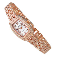 Steel strip bracelet watch waterproof watch female women's watch