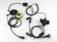 wholesale Two Way Radio Motorcycle Helmet Headset For KENWOOD +drop shipping