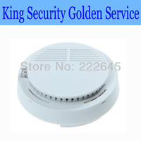 Free Shipping & Wholesale Wireless Smoke Detector Fire Alarm for GSM/ PSTN Home Alarm System 315/433 MHZ