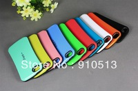 10pcs New Korea fashion Style Slim waist iFace Candy Color case for iphone 5 TPU+PC material free shipping  10 colors
