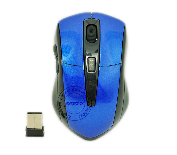 2.4Ghz USB Wireless Optical Mouse For Macbook Notebook Laptop, 1600 dpi Intelligent Power Saving(China (Mainland))